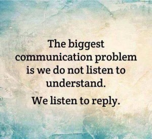Listening to understand vs listening to reply andy eklund listening is arguably one of the most difficult skills in communications and were getting worse at it solutioingenieria
