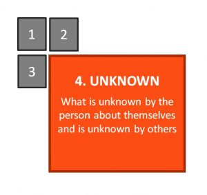 Johari Window: Unknown