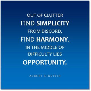 Simplicity Harmony Opportunity